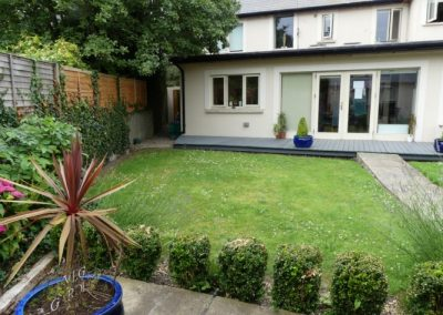 Lois Bridges Garden Area - Eating Disorder Treatment Ireland